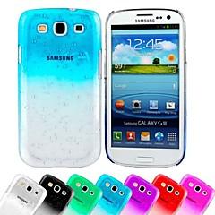 Mobile Samsung - Couleur unie - Couvercle de dos - pour Samsung S3 I9300 ( Noir/Blanc/Rouge/Vert/Bleu/Violet/Rose , Plastique )