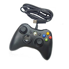 kablet usb-kontrolleren for pc& xbox 360 (svart-hvitt)