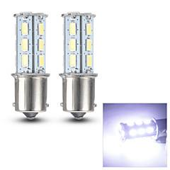 Merdia 1156 0.8W 125LM 18x5630SMD LED White Light for Car Turn Signal Light /Reading Light(Pair/ 12V)