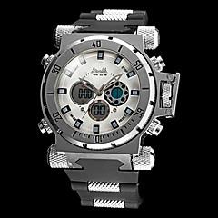 Militäruhr (LCD/Rechenschieber/Kalender/Chronograph/Wasserresistent/Duale Zeitzonen/Alarm) - Analog-Digital - Quartz