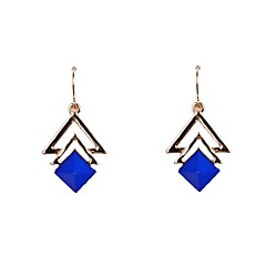 Acrylic Triangle Drop Earrings