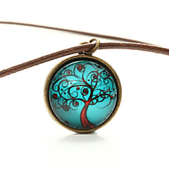 Vilam® Peace Tree Windy Tree Time Gem Cabochon Necklace