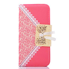 Bud Silk Pattern Full Body Case with Stand for iPhone 4/4S(Assorted color)
