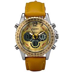 Montre de Sport alliage (LED/Calendrier/Chronographe/Résistant à l'eau/Double Fuseaux Horaires/penggera) Analogique-Numérique - Quartz