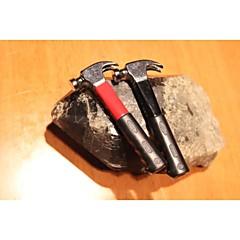 outil de création de petits briquets marteau de métal rouge de noir