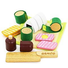 benho gummi tre japansk mat satt av tre rollespill leketøy