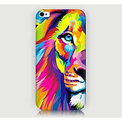 Colorful Lion Pattern Back Case for iPhone4/4S