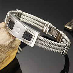 Super Cool Male Hand Catenary of Fine Steel Personality is Made of High-quality  Bracelet
