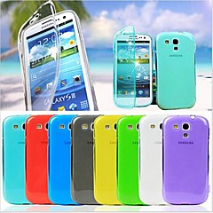 BIG D Touch View TPU Full Body Case for Samsung Galaxy S3 Mini I8190(Assorted Colors)