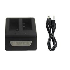 Mini smile™ Dual-Slot Battery Charging Dock with USB Charger for SJ4000 / SJ4000 Wi-Fi