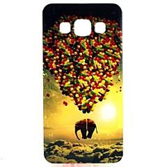 Voor Samsung Galaxy hoesje Patroon hoesje Achterkantje hoesje Ballon TPU Samsung A3