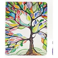 The Tree of Life Pattern PU Leather Case Cover with A Touch Pen ,Stand and Card Holder for iPad 1/2/3/4
