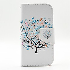 Colorful Blooms Pattern PU Leather Full Body Case with Card Slot and Stand for  Samsung S3 I9300