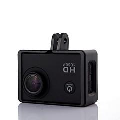 Nový přenosný plastový pevný rám namontovat případ pro sj4000 / sj5000 / sj6000 / sjcam kamery