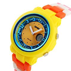 SKMEI® Women's/Kids' Sporty Wristwatch Japanese Quartz Analog-Digital Rubber Band Cool Watches Unique Watches Fashion Watch