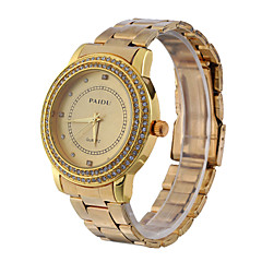 Fashion Unisex's Watch Crystal Stainless Steel Band(Assorted Colors) Cool Watches Unique Watches