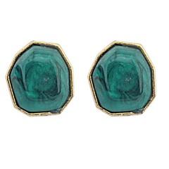 Women's EU&US Exquisite Big Irregular Bead Stud Earrings