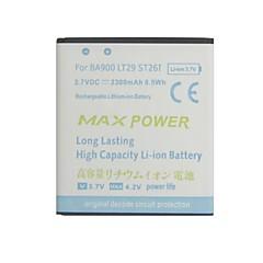 batteria di ricambio - BA900 - 2300 - Sony Ericsson caricabatterie