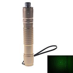 Ficklampe formad - Koppar - Grön laserpekare