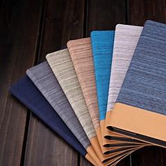 Coques Arrière/Origami Cases ( Cuir PU , Rouge/Noir/Bleu/Marron/Jaune/Gris/Bleu marine/Bleu royal ) - Design spécial pour PommeiPad mini/mini-iPad