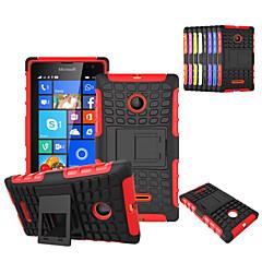 Na Etui Nokii Odporne na wstrząsy / Z podpórką Kılıf Etui na tył Kılıf Zbroja Twarde PC Nokia