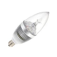 12W E14 LED-stearinlyspærer 5 Højeffekts-LED 120 lm Kold hvid Vekselstrøm 85-265 V 1 stk.