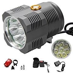 LED-Zaklampen / Hoofdlampen / Fietsverlichting LED 1 Mode 1300lm LumensWaterdicht / Oplaadbaar / Schokbestendig / Antislip-handgreep /