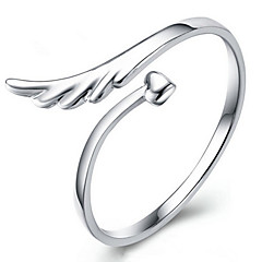 Silver Plated Ring Statement Rings Wedding/Party/Daily/Casual 1pc