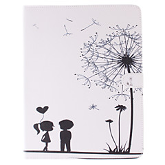 Dandelion and the Design of Lovers PU Full Body Case with Stand for iPad 2/3/4