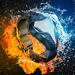 uomini di vigilanza di modo cobra rosso / blu led sport orologio digitale triangolo di uomo di ferro silicone orologio (colori assortiti)