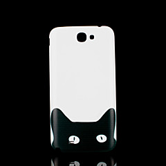 kot kotek pokrywa deseń zwierząt fo Samsung Galaxy Note 2 n7100 przypadku