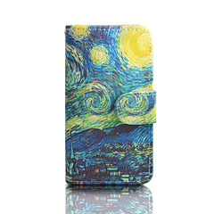 Painting Cartoon PU Leather Full Body Case with Kickstand for Samsung Galaxy S3/S3 mini/S4/S4 mini/S5 mini/S6/S6 Edge