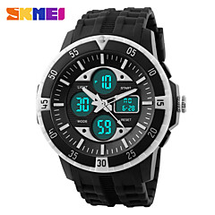 SKMEI® Men's Double Time Sporty Watch Calendar Chronograph Alarm Cool Watch Unique Watch Fashion Watch