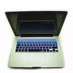 """סיליקון הצבעוני כיסוי מקלדת עור AZERTY הצרפתי coosbo® ל11.6 """"/13.3"""" /15.4 """"/ 17"""" פרו / רשתית ה- MacBook Air מק"""