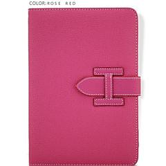 rannehihna yksivärinen / erikoismalli pu nahka fiksu coversr iPad 2 / iPad 3 / iPad 4 (eri värejä)