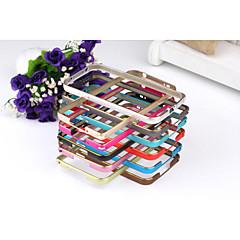 design especial pára-choques de cor sólida de metal para Samsung i9600 S5