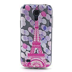 Mert Samsung Galaxy tok Minta Case Hátlap Case Eiffel torony TPU Samsung S4 Mini