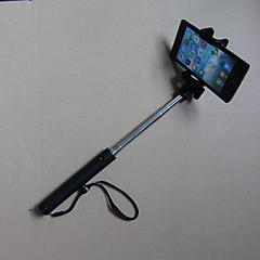 2015 nouveau style mini-bâton pliable intégrée de Selfie bluetooth sans fil pour téléphone mobile / appareil photo