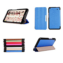 7,1 tuuman kolminkertainen taittuvat kuvio laadukkaita PU nahkan tapauksessa Acer Iconia talk s a1-724 tabletti (valikoituja värejä)