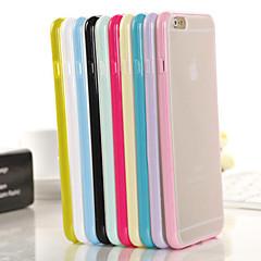 Voor iPhone 6 hoesje / iPhone 6 Plus hoesje Doorzichtig hoesje Achterkantje hoesje Effen kleur Zacht TPUiPhone 6s Plus/6 Plus / iPhone