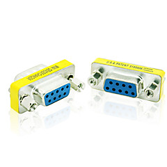 9Pin RS232 DB9 Female to Female Adapter Converter F to F