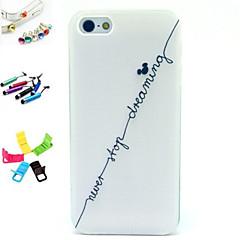 Cartoon/Design Especial/Inovadora/Anime - iPhone 5/iPhone 5S - Capa traseira ( Colorido , PUT )