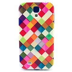 Voor Samsung Galaxy hoesje Patroon hoesje Achterkantje hoesje Geometrisch patroon TPU Samsung S4 Mini