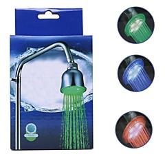 batter gratis varmesensor farge endring ledet forkrommet hånddusj