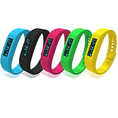 Bluetooth 4.0 Bracelet Waterproof IP58 Multifunction Wristband Pedometer Bluetooth Smart Bracelet with OLED Screen
