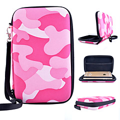 Universal Camouflage Weave Pattern Hard Shell Lanyard Hand Bag for iPhone 4/4S 5/5S 5C 6  (Assorted  Colors)