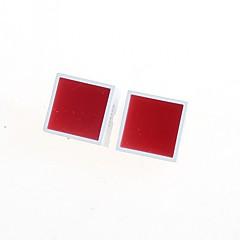 15 * 15mm tube plat rouge (x2)