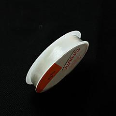 0.5mm beadia abalorios estiramiento elástico de alambre pulsera collar de cordón de cristal&enhebrar hallazgos bricolaje 5 rollos