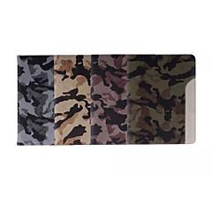 Special Design Mixed Color PU Leather Auto Sleep/Wake Up Folio Cases iPad mini2 3 4Camouflage Color Retina Snow