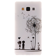 Voor Samsung Galaxy hoesje Patroon hoesje Achterkantje hoesje Paardenbloem TPU Samsung A5